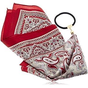 [ジョエル ガニャール] Joelle Gagnard silk scarf gom Joe14SP-71 red