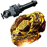 Lots Bestジャイロ4d df105lrf Top Metal Fusion Fightマスターゴールドl-drago Battling Topsおもちゃ+ Beylauncher文字列Power Launcher Blak +ランチャーグリップbb-110