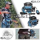 バッグフィッシング アウトドア用バッグ/レッグポーチ/サバイバルウェストバッグ ショルダバッグ 軽量/多機能/大容量でコンパクト
