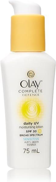 Olay Complete Defence Daily UV Moisturising Lotion Sensitive SPF 30 75mL