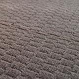ふんわりやわらかな サンゴマーヤー ラグカーペット chouette-200250-br (SUL)  約200×250cm (約3畳相当) 茶色  ポリエステル100%