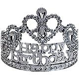 [ビッグマウス]BigMouth Inc Happy Birthday Silver Tiara MG-3188 [並行輸入品]