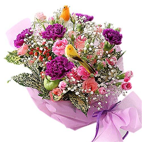 翌日配達お花屋さん 小鳥のさえずりが聞こえてきそう。お花畑で...
