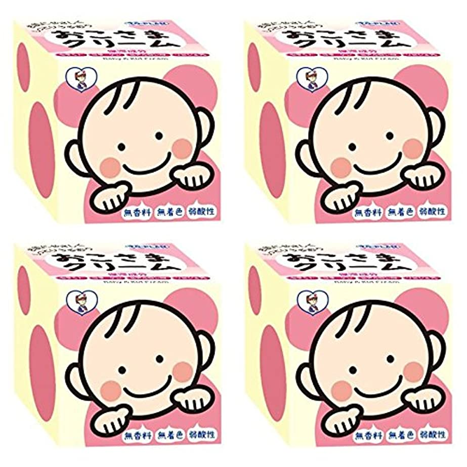 挑発する愛する小学生【セット品】トプラン おこさまクリーム110g TKO-03 ×4個
