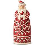 Enesco Jim Shore Heartwood Creek Nordic Noel Santa Figurine, 10.5 Inch, Multicolor