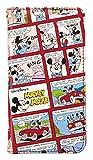 サンクレスト iDress iphone8/7/6s/6 4.7インチ 対応 ディズニー コミック柄ダイアリーカバー 手帳型ケース ミッキー&ミニー iP7-DN05