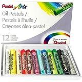 Pentel Oil Pastels 12 Pack (PHN-12)