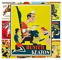 ミニポスターセット[ 13ポスター8x 11] Buster Keaton #サイレント映画ムービーポスター再印刷