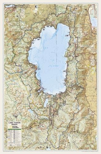 Download Lake Tahoe Basin: Wall Maps U.s. (National Geographic Reference Map) 1597752819