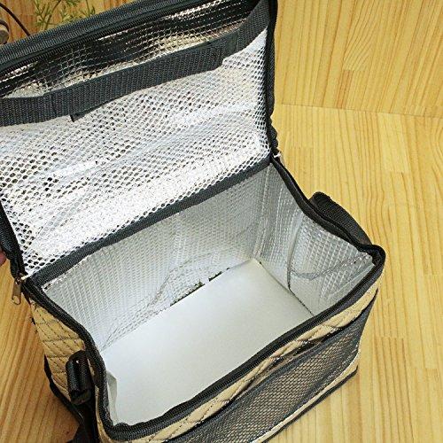 プロリーブ 折りたためるソフトクーラーバッグ保冷バッグ Sサイズ 1コ入