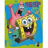 Spongebob Zappy Sponge 40x50 Mink Style Blanket in Gift Box by SpongeBob SquarePants