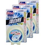 【まとめ買い】ブルーレットドボン漂白剤 トイレタンク洗浄剤 無色の水 120g×3個