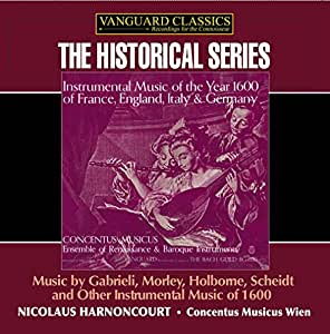 VARIOUS:Instrumental Music of 1600