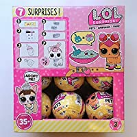 LOL Surprise! Full Case of 18 Pets Balls Series 3 [並行輸入品]