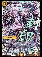 デュエルマスターズ DMX19 封印の精霊龍ヴァルハラ・パラディン R S5