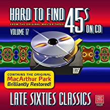 Hard To Find 45S On Cd Vol.17 Late Sixties Classics