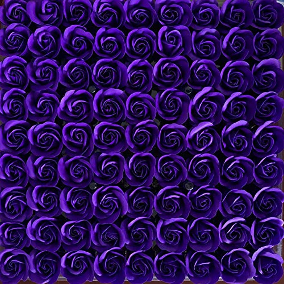 比較株式会社最終81PCS DIY ボディソープ バラ ローズ 洗濯用 フラワーソープ 良い香り 三層 贈り物 結婚披露宴 バレンタインデーギフト 石鹸の花+ボックス