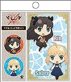 Fate/stay night [UBW] マグネット&メモ帳セット「凛&セイバー」