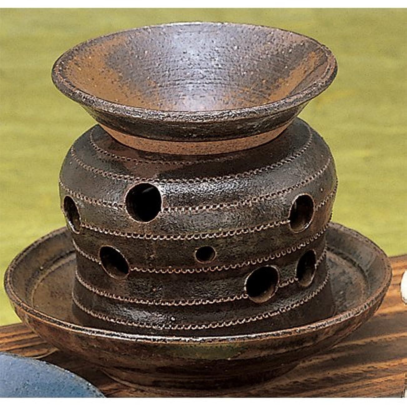 散髪教育現実的香炉 灰流し 茶香炉 [R13xH10.5cm] プレゼント ギフト 和食器 かわいい インテリア