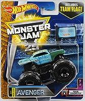 2017 Hot Wheels Monster Jam 1:64 Scale Truck with Team Flag - New Look Avenger [並行輸入品]