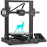 Creality Ender-3 V2 3D Printer, Official Comgrow Upgrade Printers with Silent Motherboard Meanwell Power Supply Carborundum G