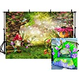 mehofotoフォトBackgroud Cartoon Fairy Tale誕生日パーティー装飾Backdrops for Photography 7 ftx5ft 7x5ft ME023