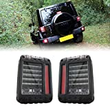 MOTOSTAR Jeepラングラー LEDテールライト 高品質 07年以後用 2個セット 日本向け仕様 1年保証