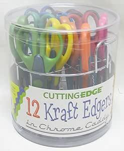 CUTTING EDGE クラフトはさみ 12本セット KRAFT EDGERS