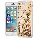Case-Mate iPhone 8 ワイヤレス充電対応 ケース 4.7インチ (iPhone 7/iPhone 6s/6) ウォーターフォール ジャンクフード 流れる キラキラ ラメ 二重構造 ハイブリッド アイフォン8 カバー 米軍MIL規格準拠 CM034678