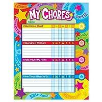 Trend Enterprises Inc. T-73130BN Praise Words 'n Stars Chore Charts 25 per Pack Pack of 6 [並行輸入品]