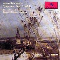 Rubinstein: Symphonies Nos. 3 & 5 (1994-09-13)