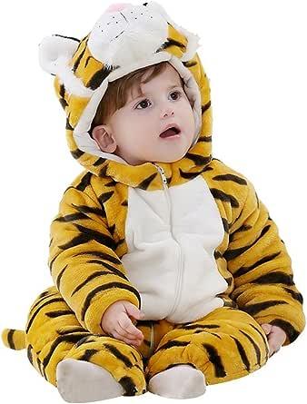 Honeystore 着ぐるみ・パジャマ 動物衣装 ベビー着ぐるみ タイガー着ぐるみ 虎 動物パジャマ/動物仮装衣装