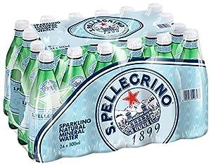 Sanpellegrino(サンペレグリノ) ナチュラルミネラルウォーター(微炭酸) 500ml×24本 [正規輸入商品]
