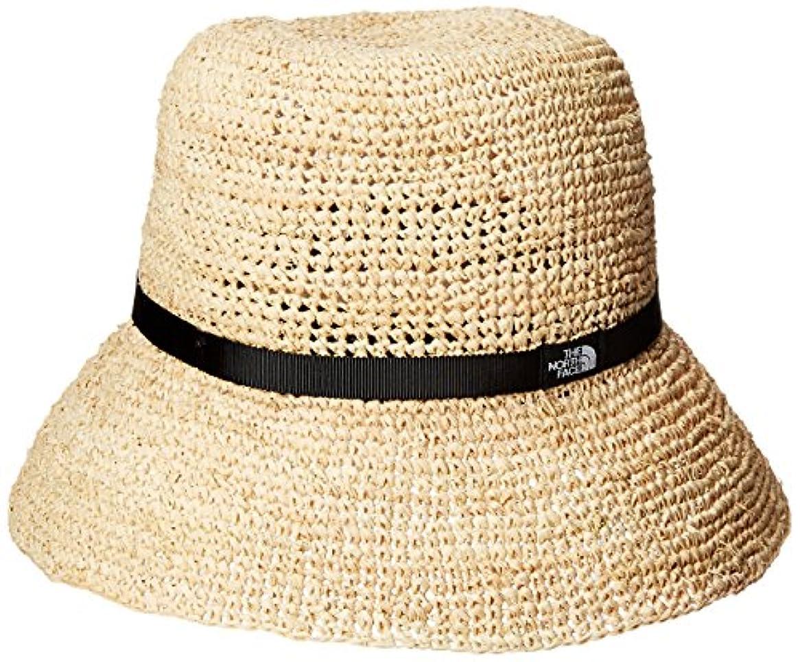 エージェント万一に備えてブラウン[ザ?ノース?フェイス] ウイメンズラフィアハット Women's Raffia Hat