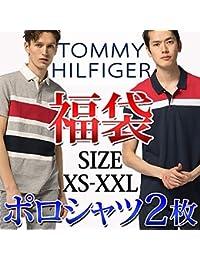(トミーヒルフィガー) TOMMY HILFIGER 【福袋】 ポロシャツ メンズ 半袖 ゴルフ 大きいサイズ 綿 2枚セット