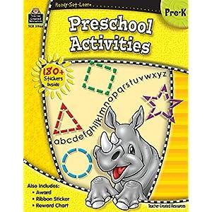 Preschool Activities, Pre K (Ready Set Learn)