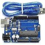 HiLetgo® UNO R3 ATmega328P ATMEGA16U2開発ボード UNO R3 Arduino互換 [並行輸入品]