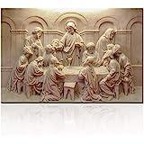 TUMOVO Jesus Pictures on Canvas, Artwork-09, 16''X24''