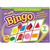 Colors and Shapes Bingo for Ages 4 and Up