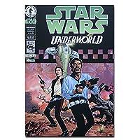 Underworld Han Solo Lando Weapons オリジナル・ポストカード Star Wars Comics Underworld Han Solo Lando Weapons カードギフト