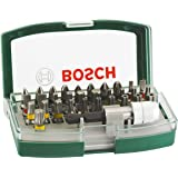 Bosch 2607017063 32-Piece Screwdriver Bit Set with Colour Coding