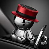 Magnetic Car Phone Holder AUSELECT Dashboard Phone Mount Little Man B Style Red Hat