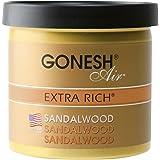 GONESH(ガーネッシュ) 置き型芳香剤 ゲルエアフレシュナー サンダルウッド(白檀の香り) 78g