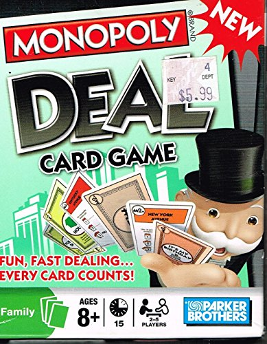 Hasbro Monopoly Deal Card Game モノポリーディールカードゲーム並行輸入品