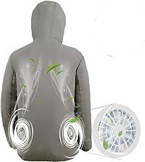 暑さ対策グッズ空調服 ファン2個付き ラッシュガード パーカー 釣り 日よけ USBタイプ 熱中症対策 メンズ レディース