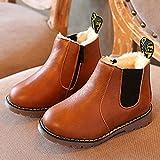 ルテンズ(Lutents )乳児靴 温かい 女の子 男の子 滑り止め 子供 靴 花柄 シンプル 2-7歳 誕生日 プレゼント ベビーシューズ 耐磨 おしゃれ カッコイ 履きやすい キッズ ブーツ