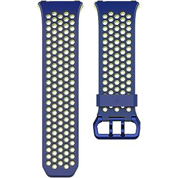 Ionic交換用スポーツバンド コバルト&ライム(Blue, Yellow) Lサイズ 【国内正規品】 FB164SBBUL