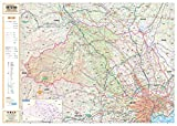スクリーンマップ 分県地図 埼玉県 (ポスター地図 | マップル)
