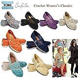 TOMS shoes トムズシューズ スリッポン レディース クロシェ Crochet Womens classics[並行輸入商品]