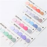 HUNGER Institute of Color Sticky Note Self-Stick Note Office Memo Note,150Pcs/Pad, 6Pads/Pack (Q55302)